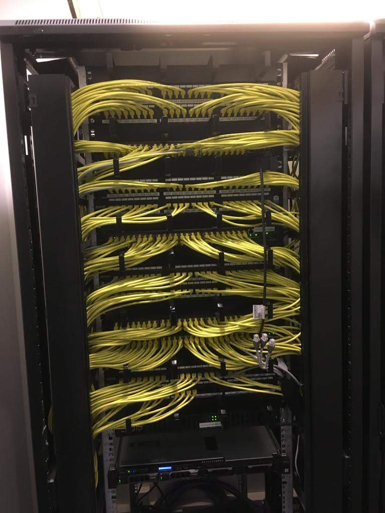 Cabling CAT5e CAT6 Fibre